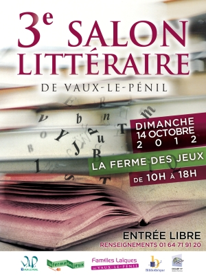 Salon Littraire de Vaux-le-Pnil (77)