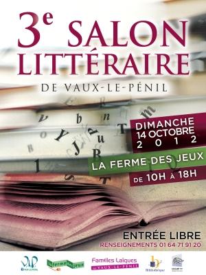 Salon Littéraire de Vaux-le-Pénil (77)