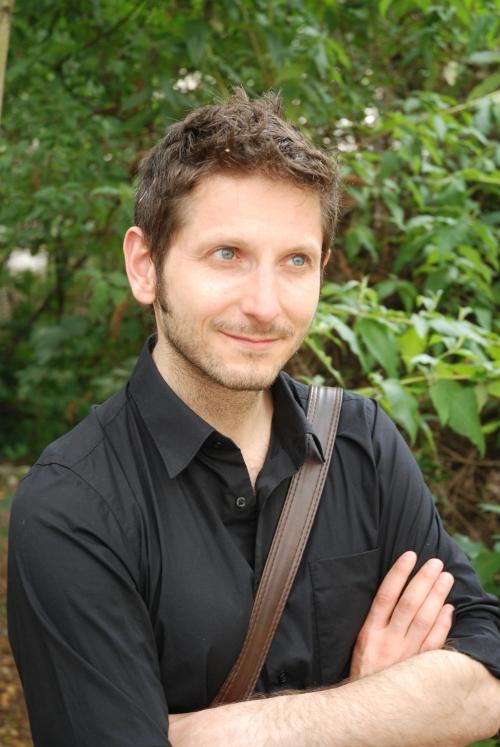 François Szabowski en dédicace à la librairie l'Invit à Lire.