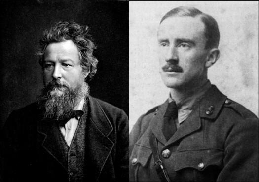 Tolkien et Morris
